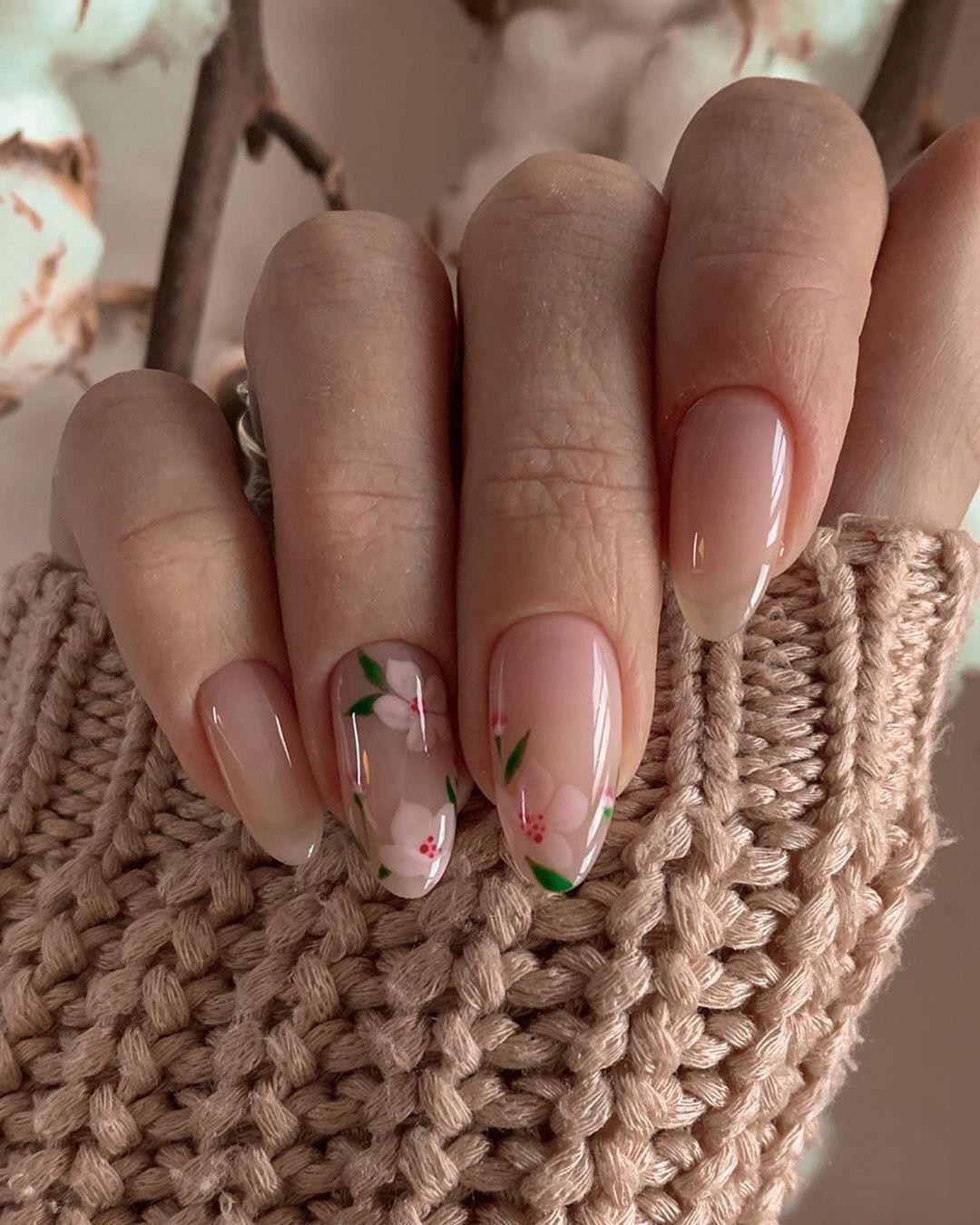 """Дизайн ногтей on Instagram: """"�Если тебе понравилась работа мастера, с тебя лайк и любой смайл в комментах... �� #маникюр #ногти2020 #idei_nogtey #ногти #маникюр2020…"""""""