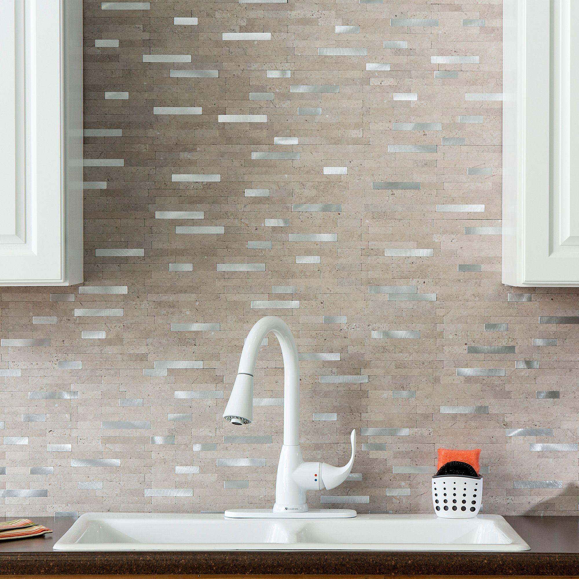 Aspect Peel And Stick Collage Tiles Diy Decor Store Stick On Tiles Peel And Stick Tile Stick Tile Backsplash