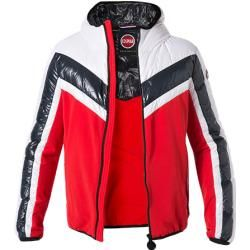 Photo of Colmar men's down jacket, microfiber, red-navy-white Colmar