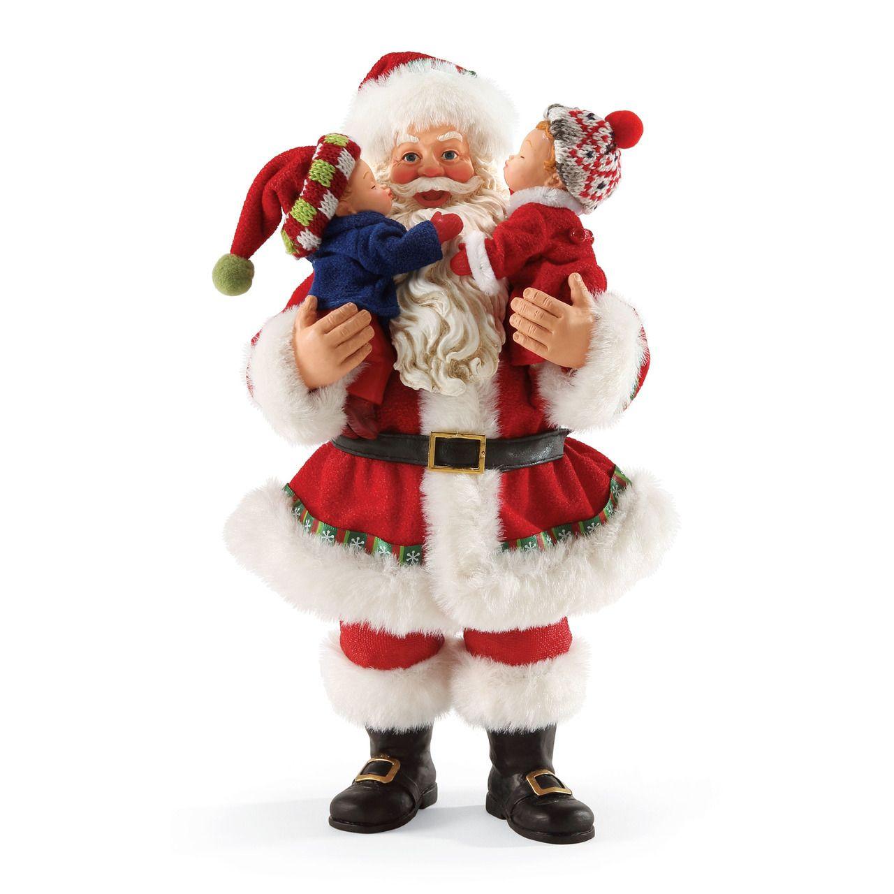 The Jolly Christmas Shop - Department 56 Possible Dreams Santa Merry Kiss-mas 4052402, $70.00 (http://www.thejollychristmasshop.com/department-56-possible-dreams-santa-merry-kiss-mas-4052402/)