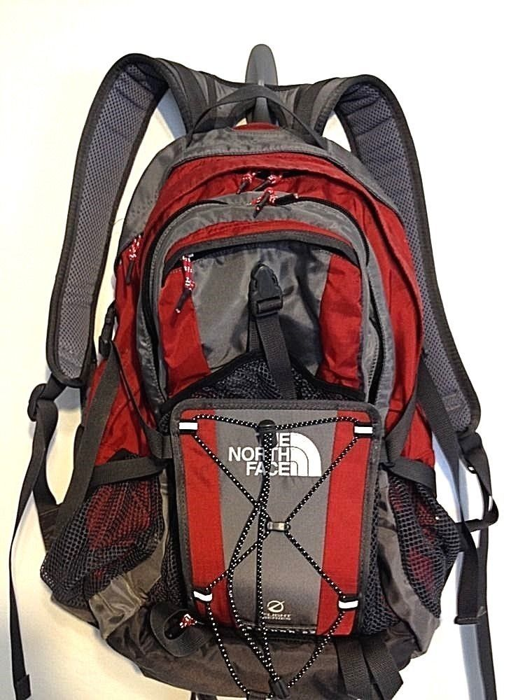 a78f5968d THE NORTH FACE NEUTRON 32 Flight Series Backpack RED/Gray #thenorthface