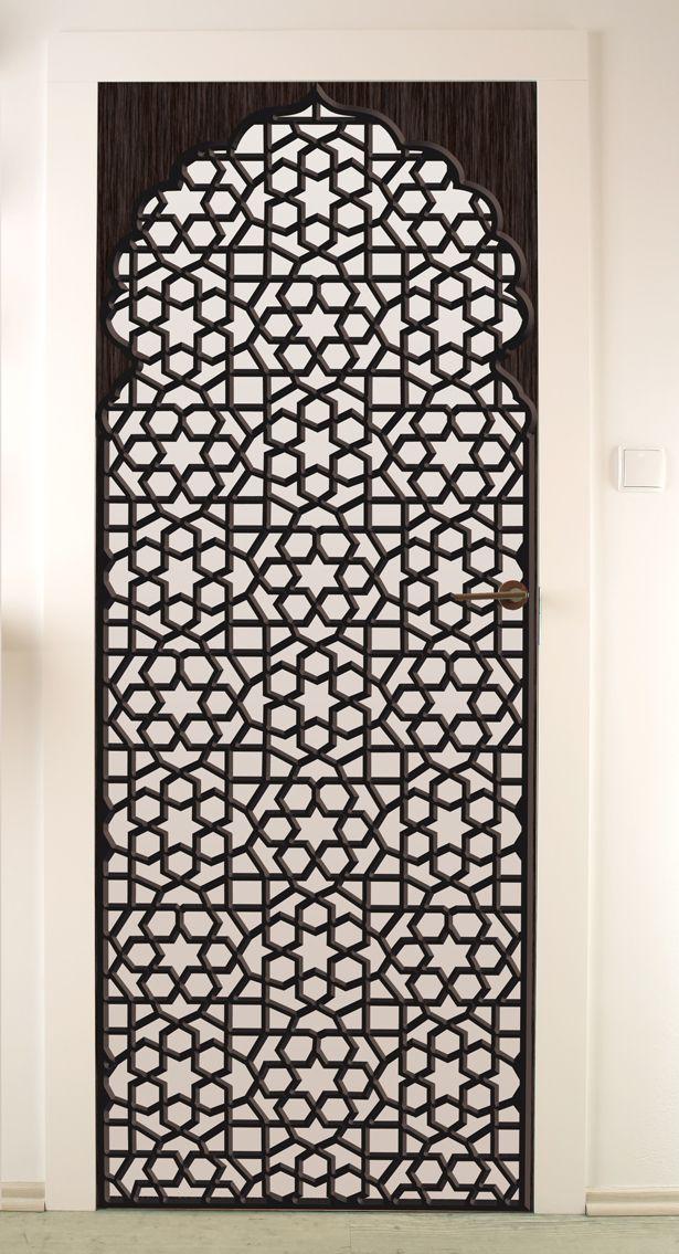 r sultat de recherche d 39 images pour stickers porte oriental fer forge deco pinterest fer. Black Bedroom Furniture Sets. Home Design Ideas