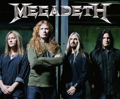 Image result for Megadeth band