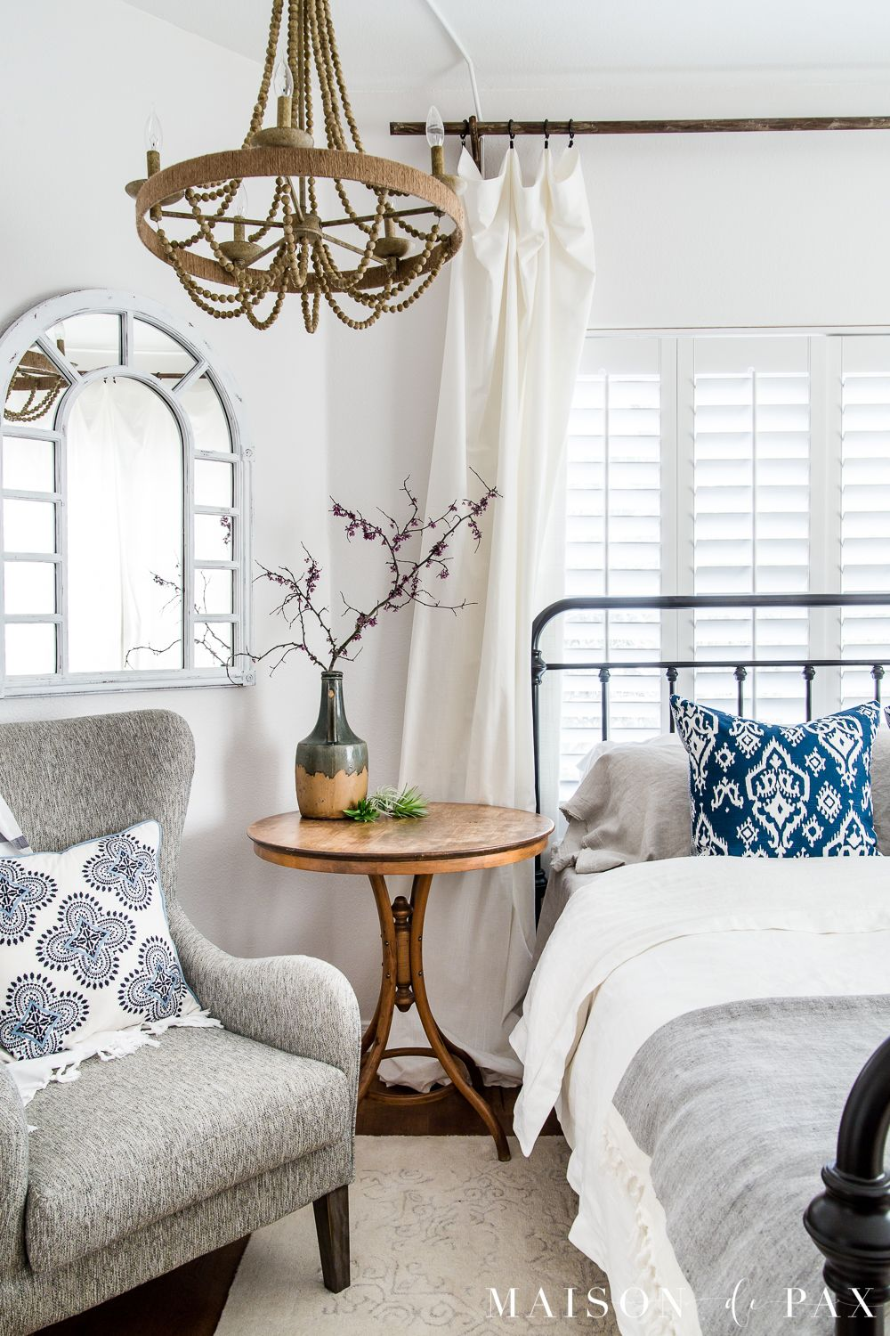 Simple Master Bedroom Decorating Ideas For Spring Blogger