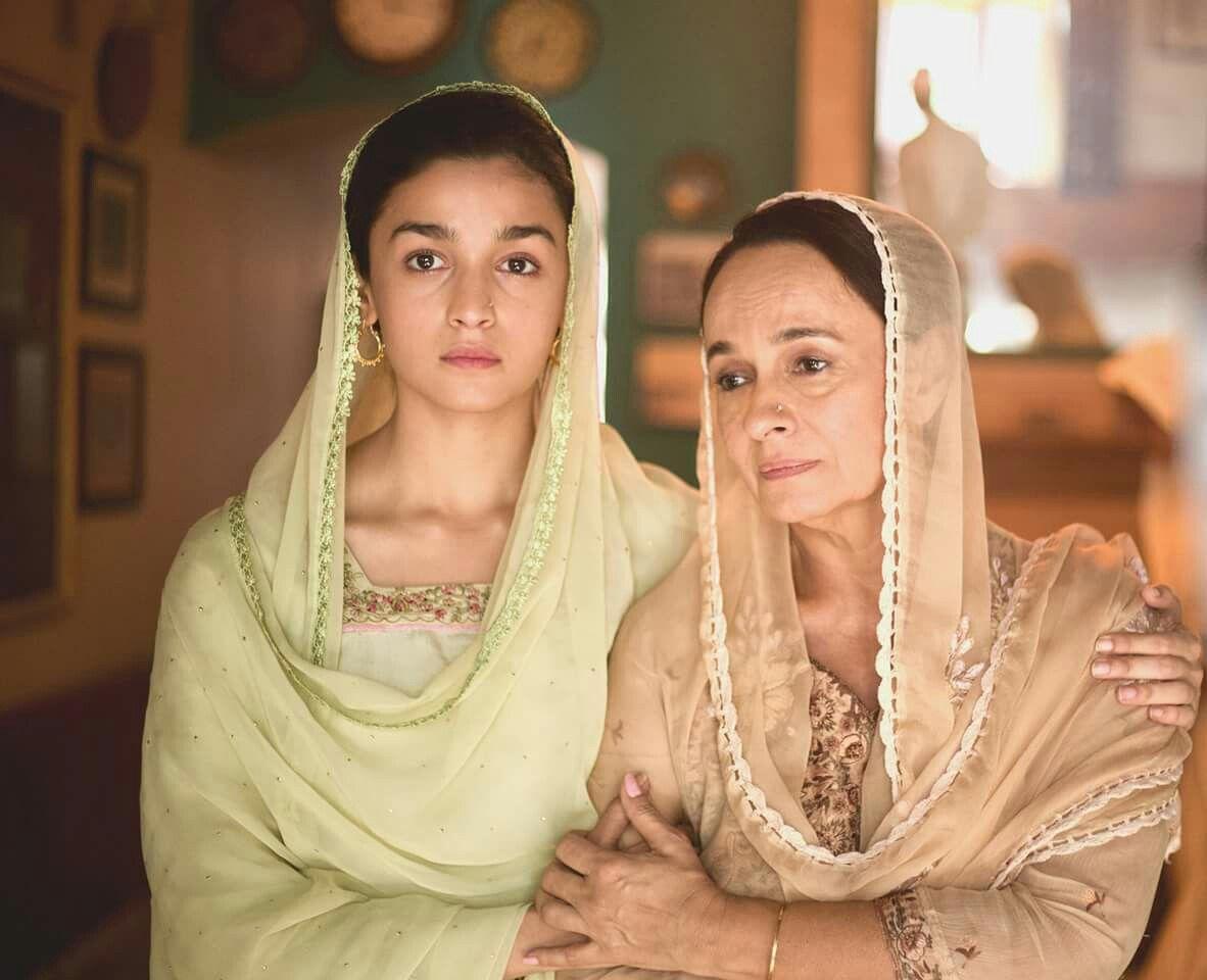 Alia bhatt with Soni Razdan - upcoming Raazi movie. | Alia, Alia bhatt,  Indian fashion