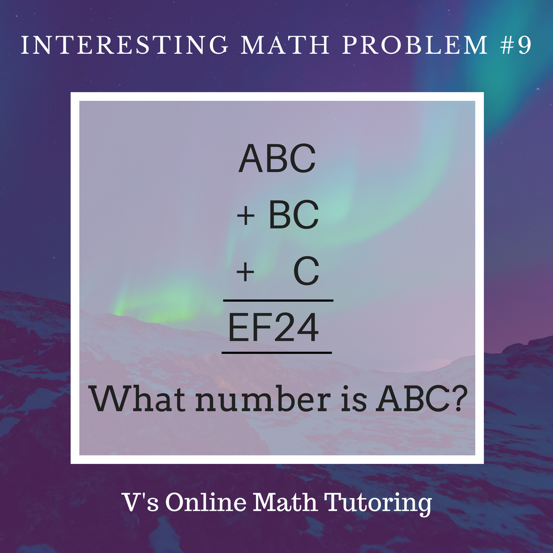 Math Competition Problems Problem Of The Week 8 Math Competition Online Math Math Challenge Problems [ 1080 x 1080 Pixel ]
