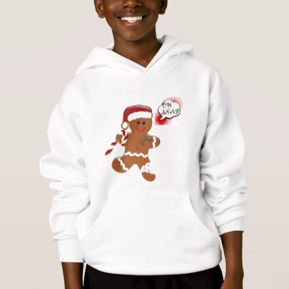 oh snap ginger snap cookie funny hoodie design |