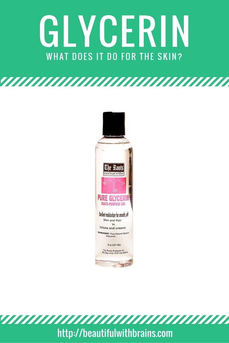Benefits Of Glycerin In Cosmetics Organic Skin Care Coconut Oil Skin Care Skin Care