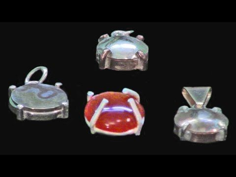 Setting a Cabochon In A Single Gallery Setting With Guest Instructor Jennifer Monroe - YouTube