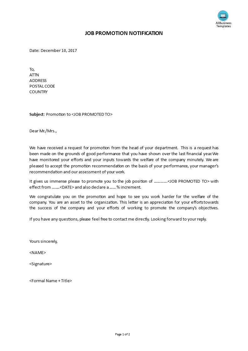 Promotion announcement how to write a proper job promotion promotion announcement how to write a proper job promotion announcement download this promotion announcement template now maxwellsz