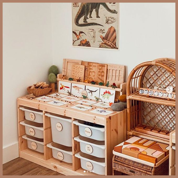 Photo of Montessori and Waldorf Inspired Playrooms – Squirrelly Minds