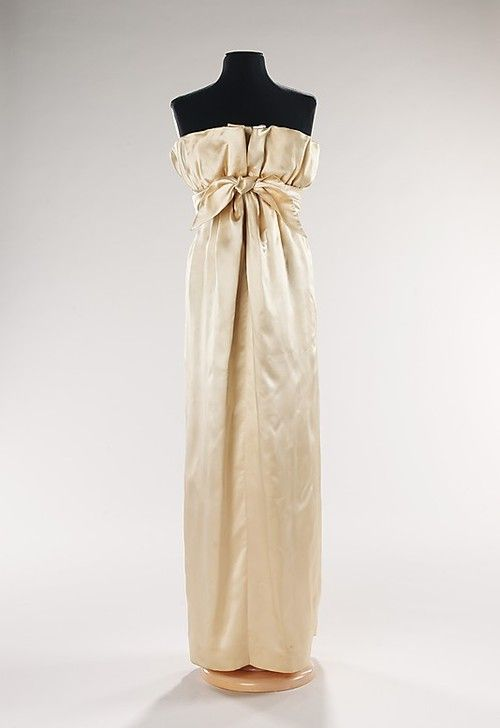 vintage couture #evening Dress Hubert de Givenchy, 1960 @The ...