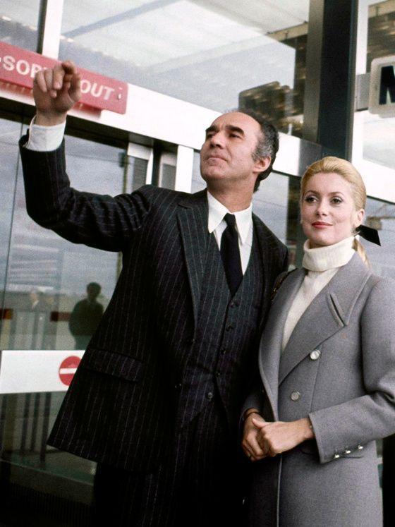 Michel Piccoli and Catherine Deneuve