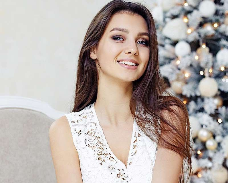 Miss Ukraine 2017 Polina Tkach showcased the winter capsule