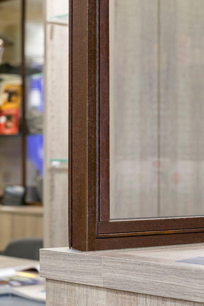 Finition rouillé pour verrière atelier d\'artiste en acier | Salle de ...