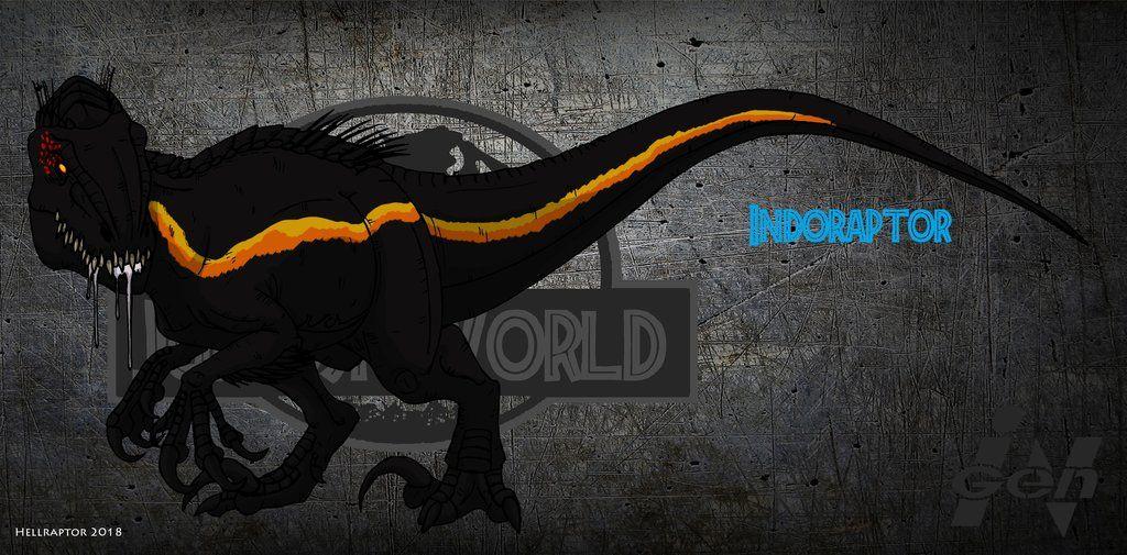 Jurassic World Indoraptor (updated 2018) by https