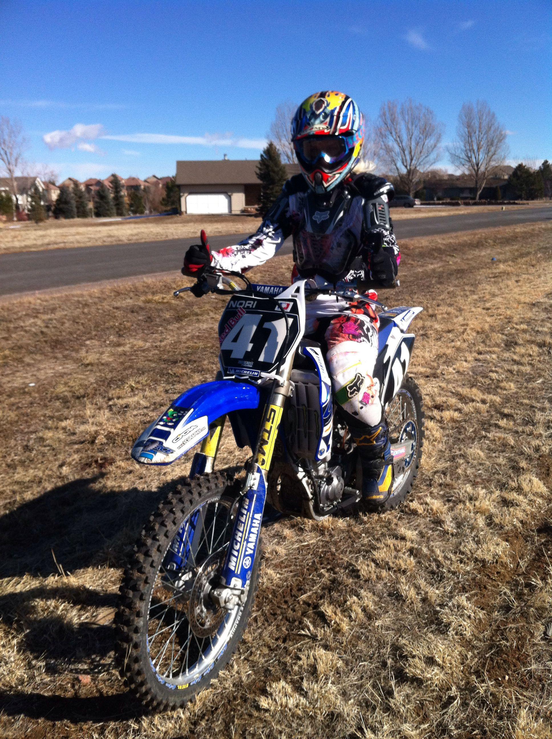 Pin By Tamara Johnston On Motorcycle Racing And Our Umbrella Girl Dirt Bike Girl Bikes Girls Motocross