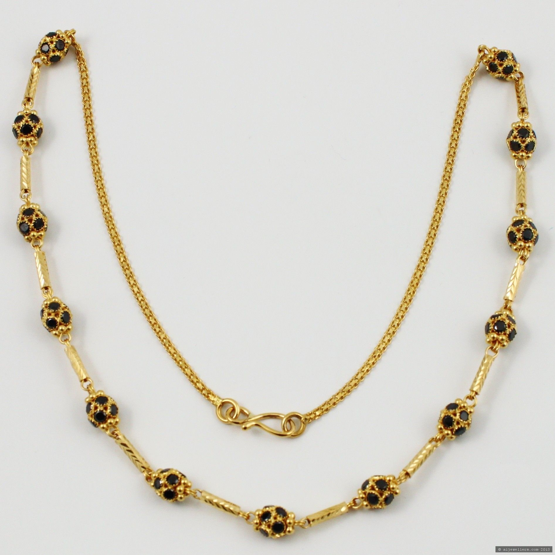 Fashion style Gold Indian chains for woman
