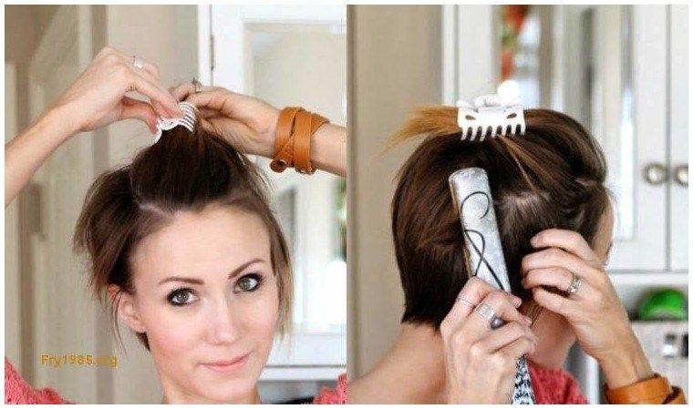 Kurze haare schneiden anleitung