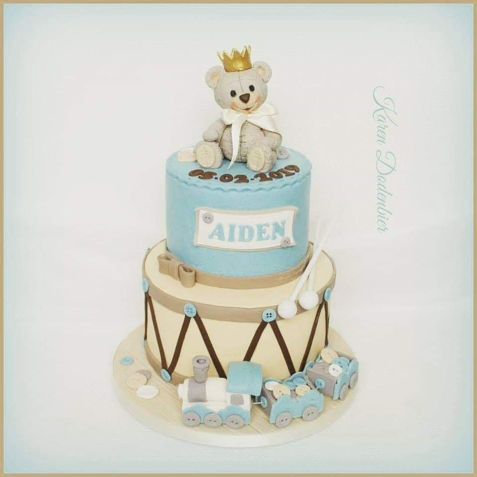 Pin by Karen Dodenbier on Dutch Cakes! | Baby boy cakes ...