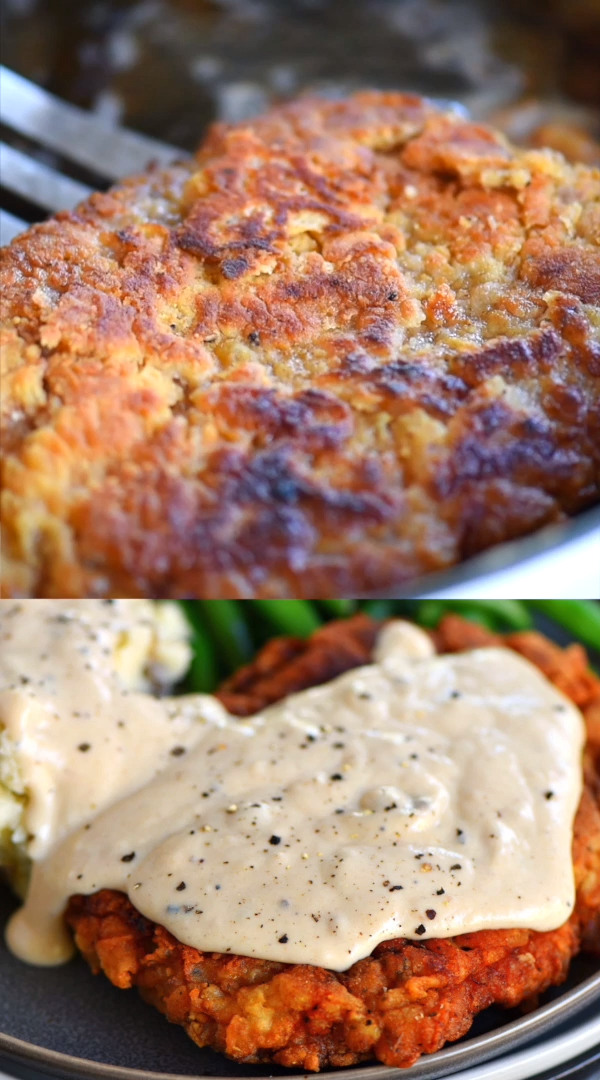 Photo of THE ULTIMATE CHICKEN FRIED STEAK RECIPE WITH GRAVY