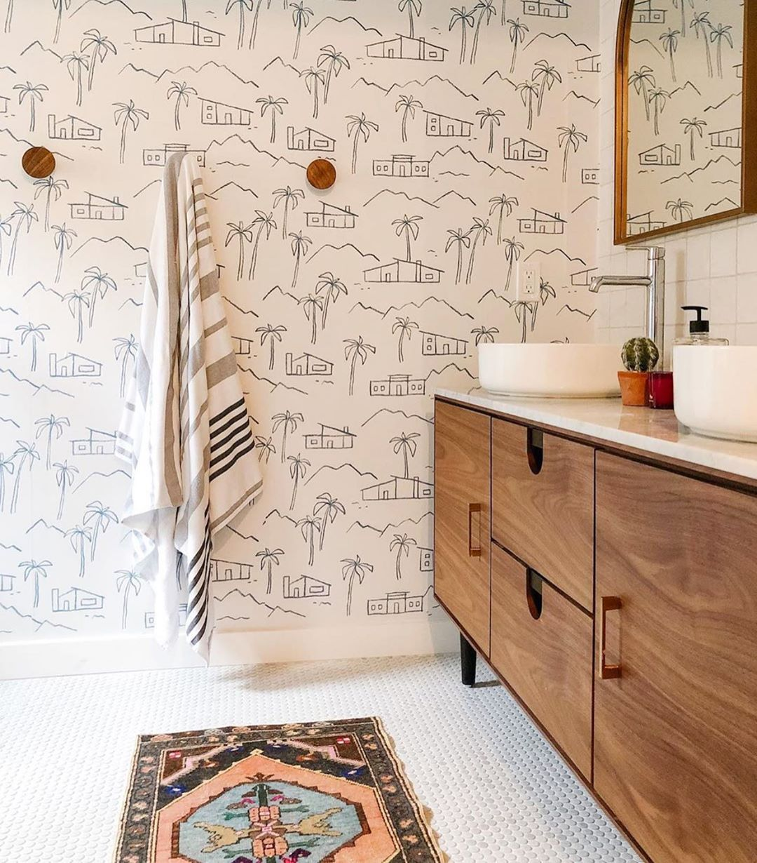Instantly Add A Little Sunshine To You Space With Our High Quality Removable Wallpaper This Print Is Chasing Paper Chasing Paper Wallpaper Removable Wallpaper