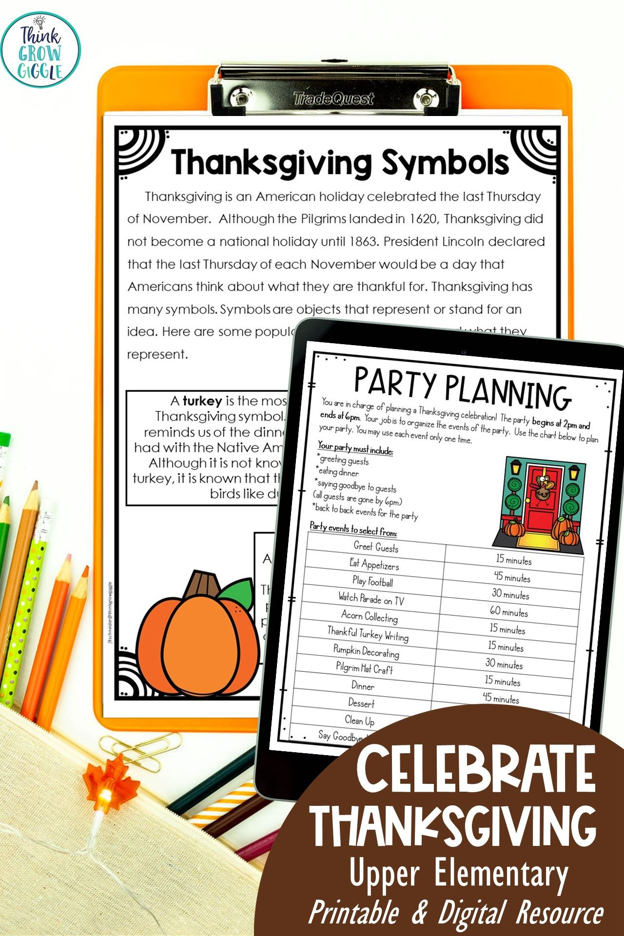 Fun Thanksgiving Activities For Elementary Kids Thanksgiving Reading Comprehension Thanksgiving Reading Passages Thanksgiving Readings [ 1920 x 1280 Pixel ]