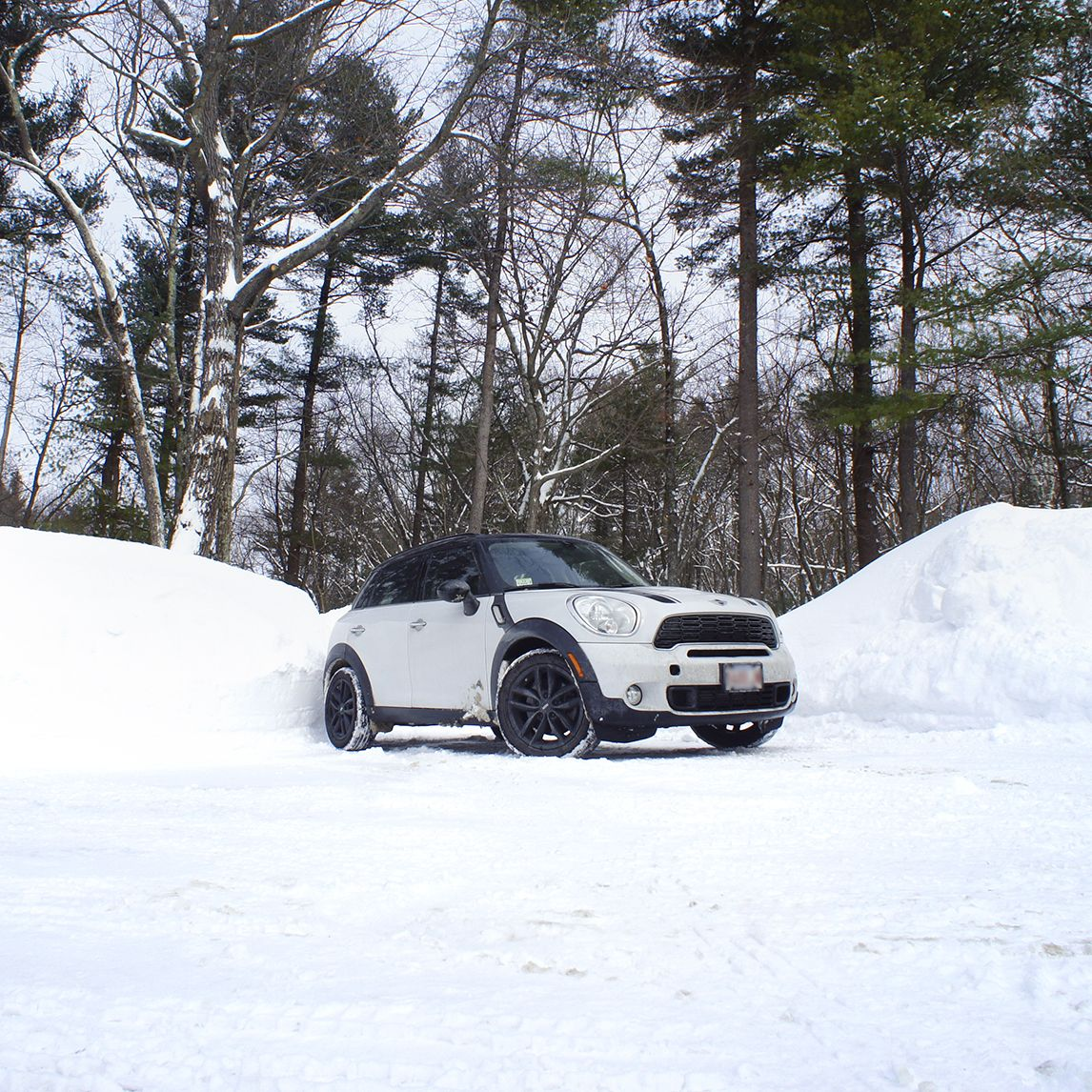 The Mini Countryman Reigns Over Ice And Snow