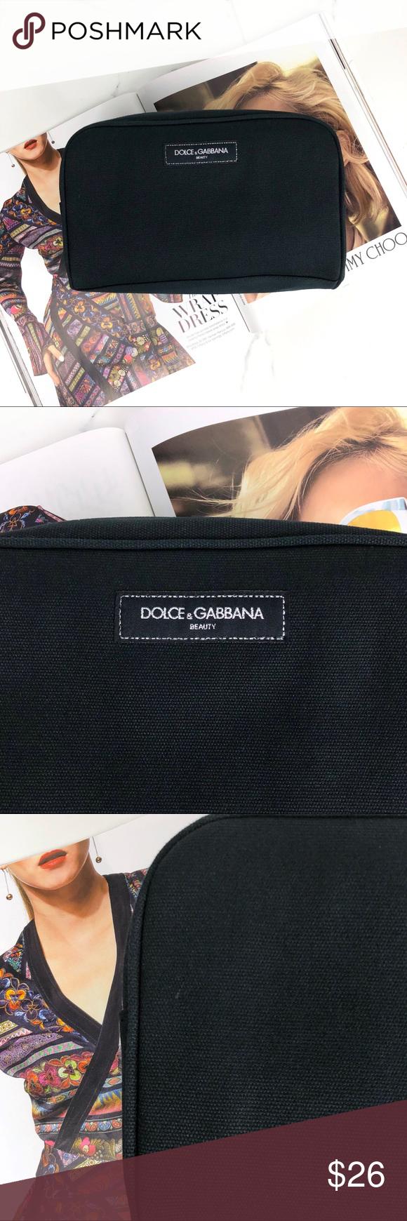 Dolce & Gabbana • Black Beauty Makeup Bag Makeup storage