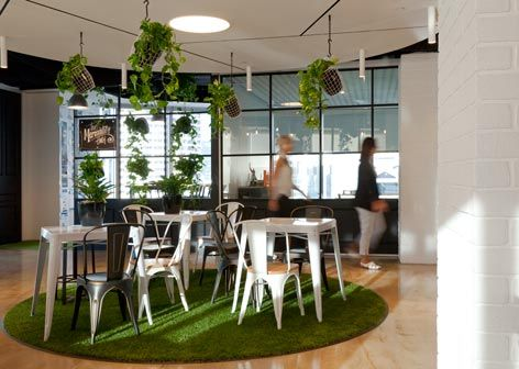 young and rubicam group office ftitout idpm sydney commercial