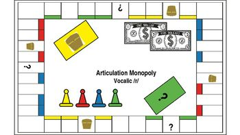 Articulation monopoly vocalic r articulation therapy v the speech and language backpack ear soundgame ccuart Choice Image