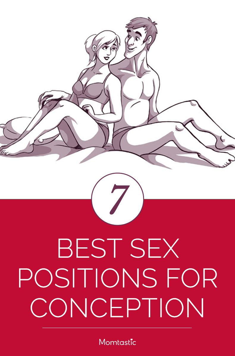 Sexual positions to get pregnant easier