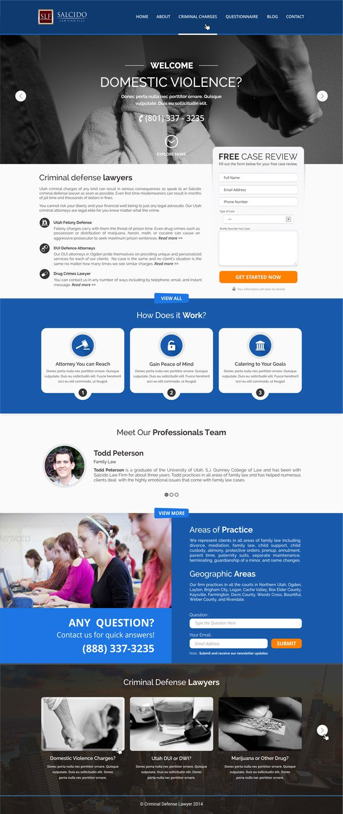 22 Law Firm Websites For Your Inspiration Designyep Law Firm Criminal Defense Law Firm Website