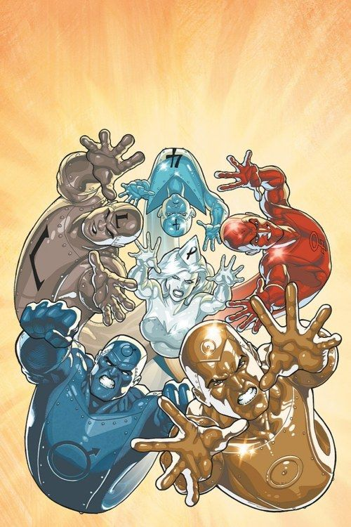 Metal Men by Kevin Maguire