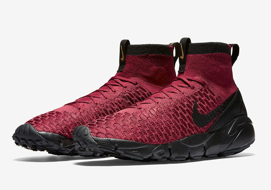 new product ce8c4 507e0 Nike Air Footscape Magista FK FC Mens Shoes Team Red Black Gold 830600 600   Nike  RunningCrossTraining