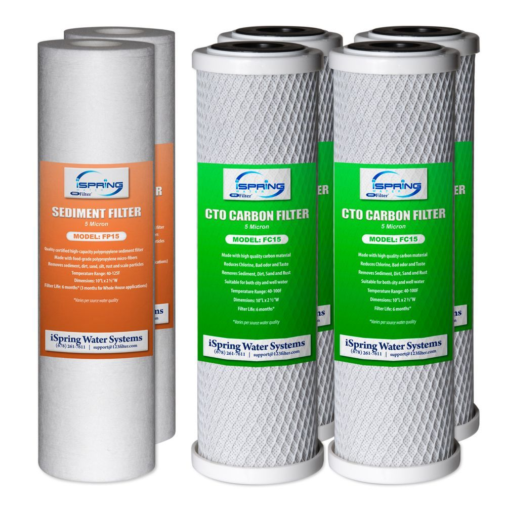 F6cto 1 Year Replacement Water Filter Pack For Us31 Reverse Osmosis Replacement Filter Sediment