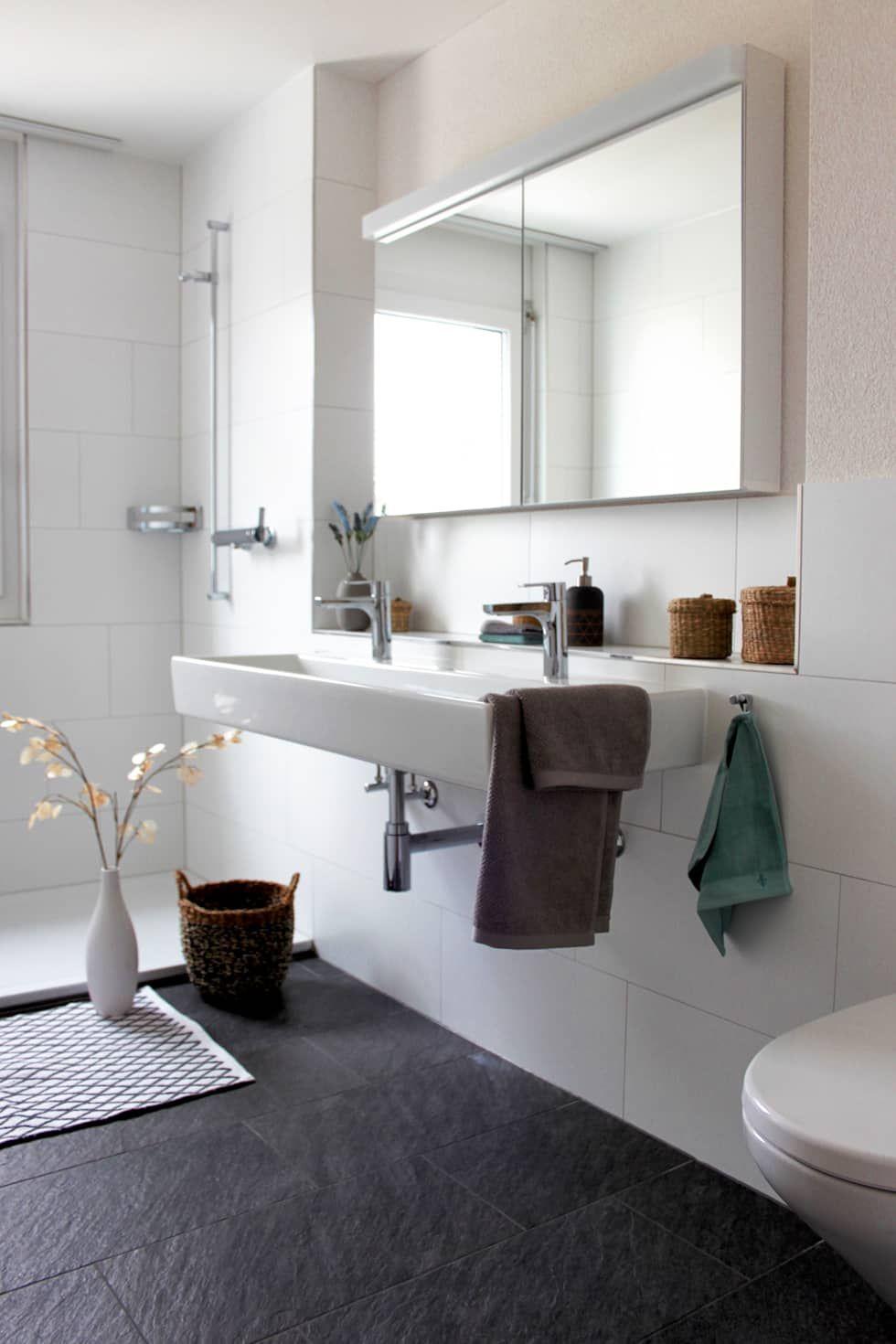 Genial Badezimmer: Skandinavische Badezimmer Von Home Staging Nordisch