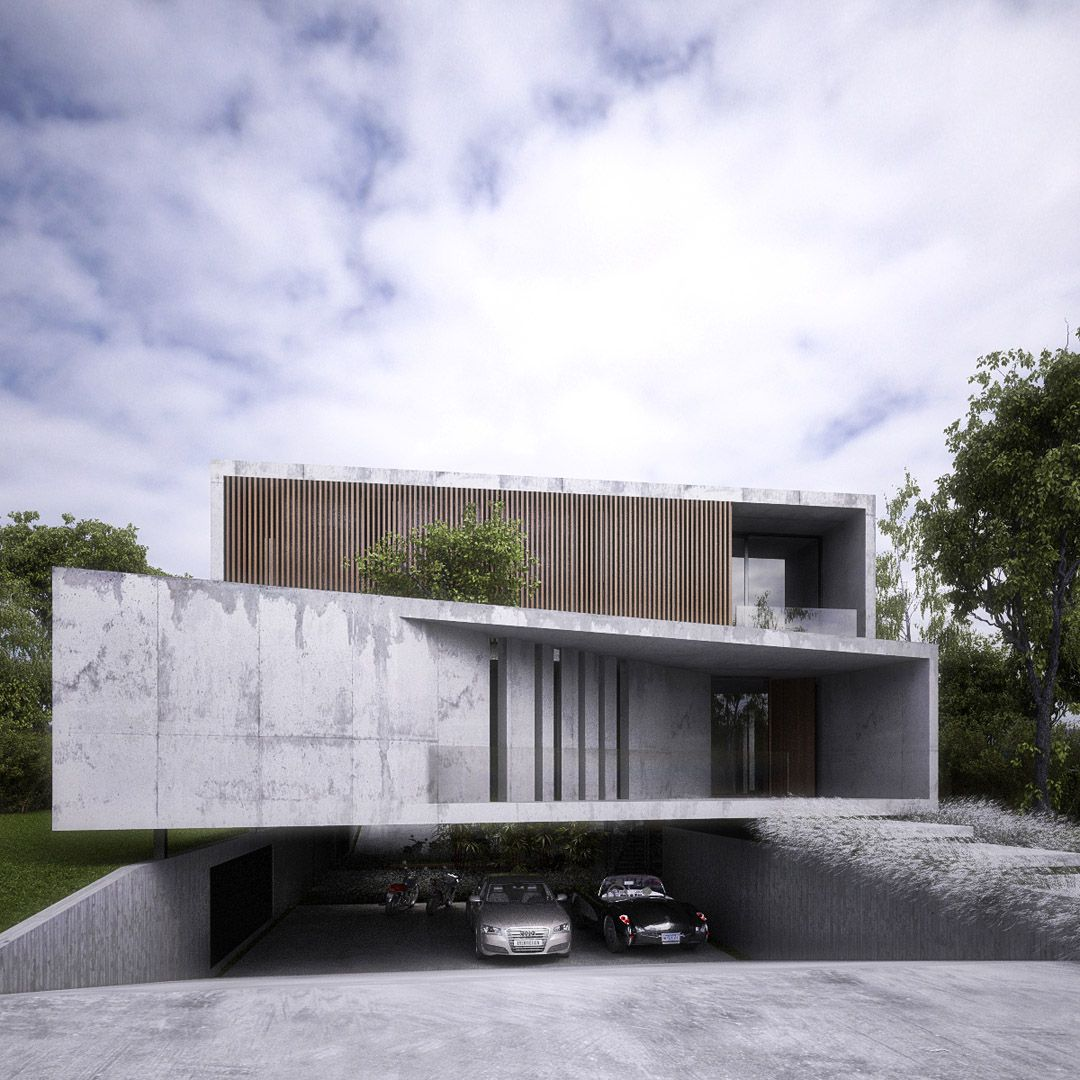Galeria Fotos - Amado Cattaneo Arquitectos - Casa Racionalista / Arquitecto  - PortaldeArquitectos.com