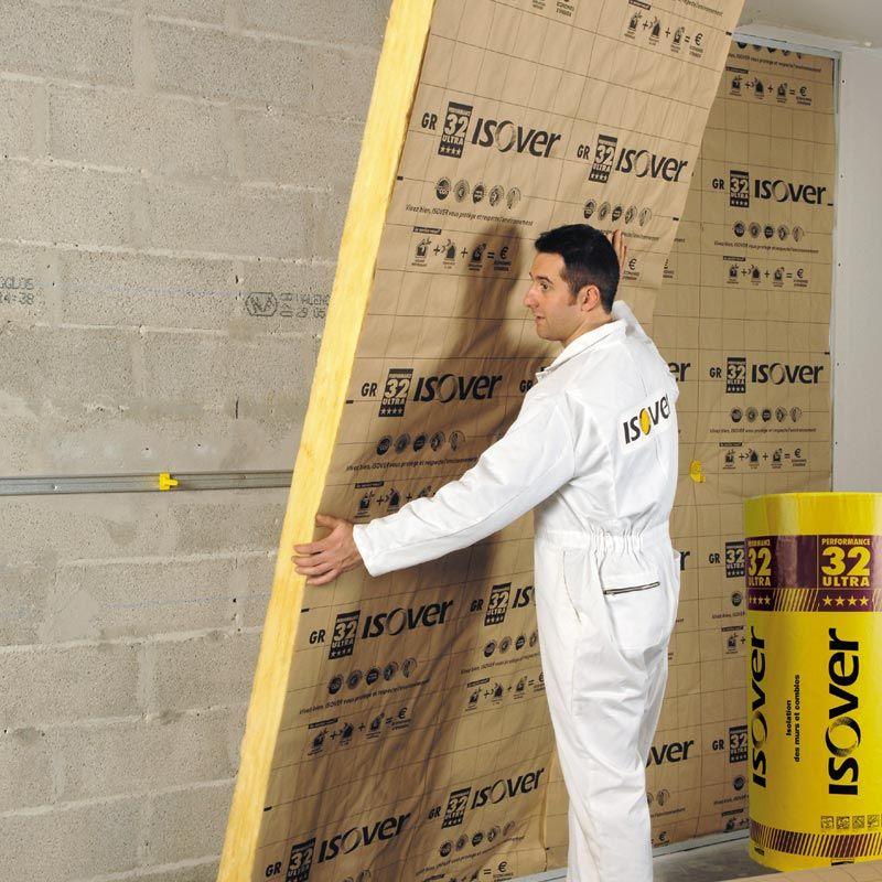 Isolation intérieure des murs par doublage thermo-acoustique  L