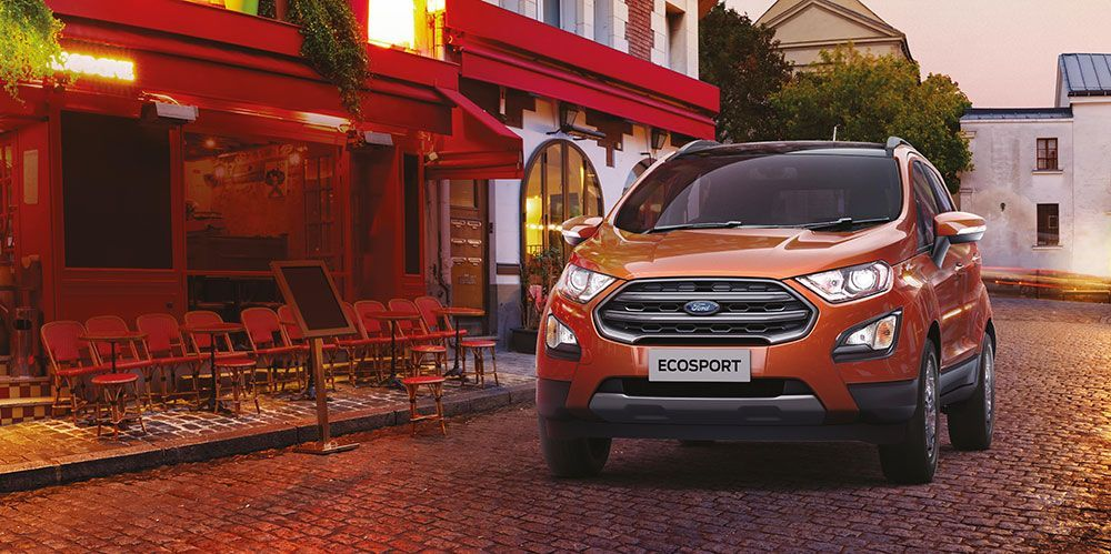 2020 Ford Ecosport Bs6 Petrol And Diesel Variants Launched In 2020