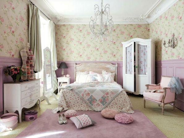 Ideas para decorar el dormitorio con estilo vintagecosas - Dormitorios vintage chic ...
