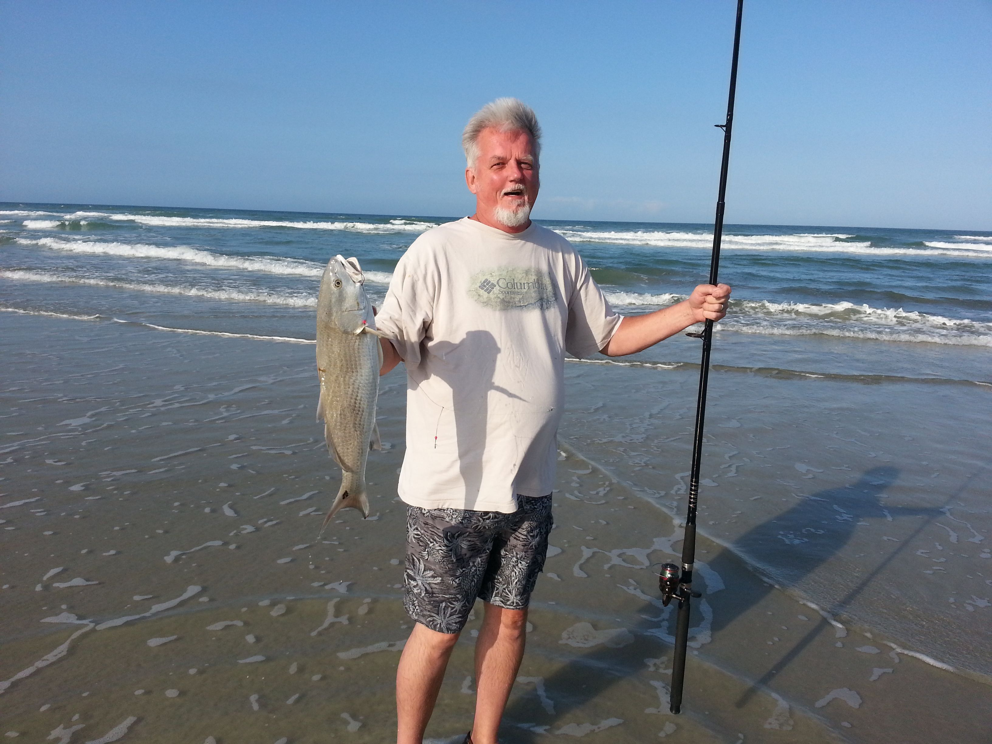 Surf Fishing New Smyrna Beach Florida