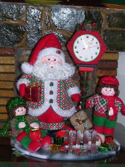 Mu ecos de navidad en pa o lency buscar con google - Munecos de navidad ...