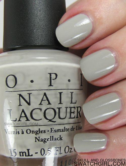 OPI Skull and Glossbones nail polish swatch & review | Esmalte ...