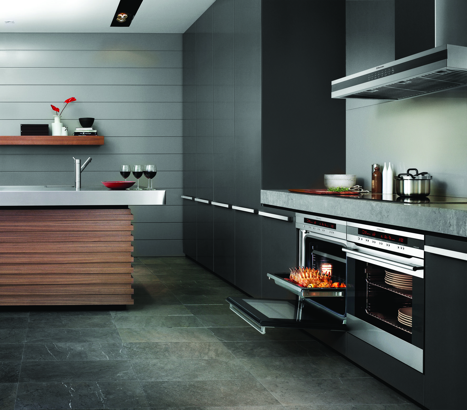 Double Underbench Ovens