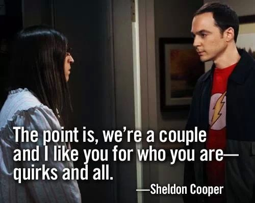 Sheldon Amy love
