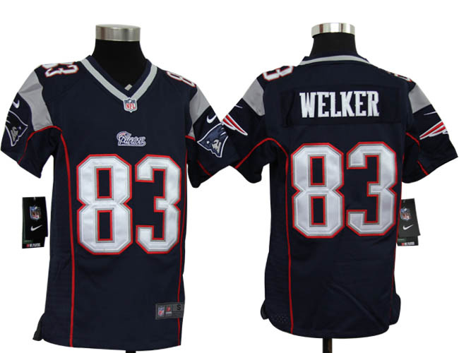 ... Navy Blue Rush NFL Jersey Discount from Youth NFL New England Patriots  Wes Welker Game Team Color Jersey 19.55 Kids Nike ... d5e06b4f0