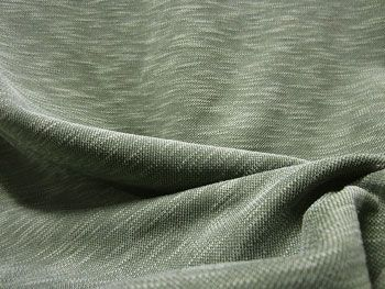 Knitting Fabric Construction : Double knit : a weft fabric in which two layers of loops are