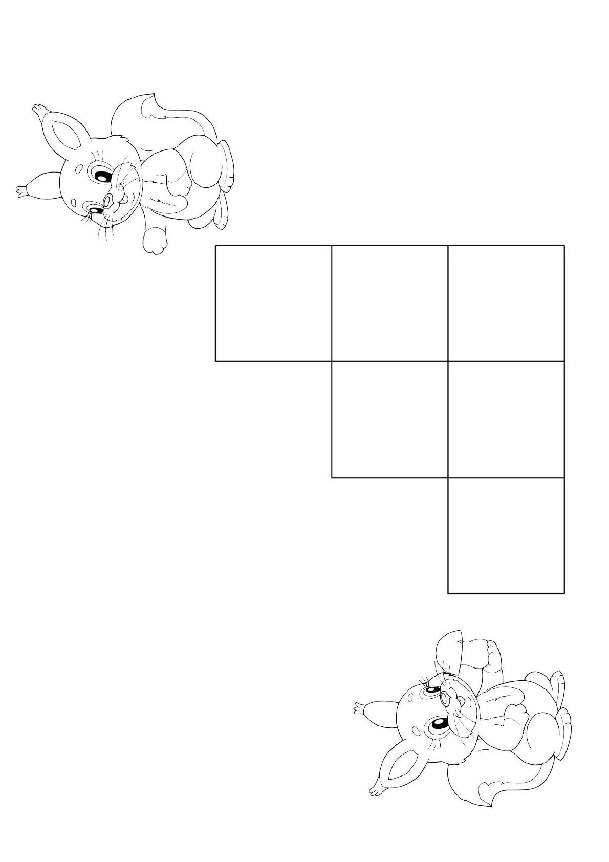 Шаблоны для Сложи узор.pdf | Узоры, Шаблоны, Для детей