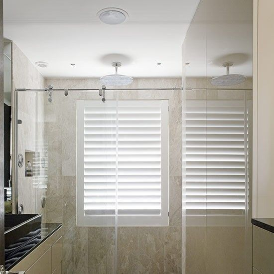 shutter in shower bathrooms pinterest wet rooms